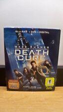 NEW W/SLIP MAZE RUNNER DEATH CURE BLU RAY DVD DIGITAL HD ORIGINS COMIC BOOK