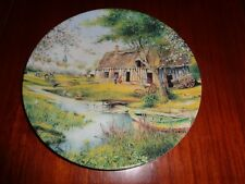 Royal Limoges Collectors Plate PRINTEMPS EN NORMANDIE