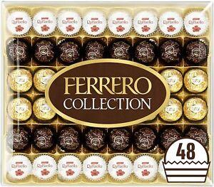 Chocolate Gift Includes Rocher Rondnoir Raffaello Almond Pralines Box 48 Pieces