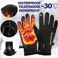 Waterproof Winter Warm Ski Outdoor Gloves Touch Screen Sport Windproof Men Women