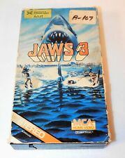 Jaws 3 VHS 1983 Original MCA Home Video First Release Htf!