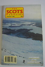 The Scots Magazine. Vol. 136, No. 4. January, 1992. Rob Roy Lived Here. Riches.