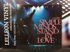 "Simple Minds Stand By Love Ltd Ed Numbered 12"" Single Vinyl VST1358 Pop 90's"