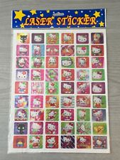 New Sealed Hello Kitty Sheet Laser Stickers Costumes Sticker Collection