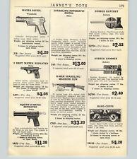 "1947 PAPER AD Toy G Man Sparkling Machine Gun 23"" Long Marx Auburn Hatchet Hamme"