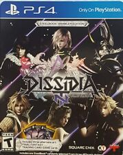 NEW PS4 Dissidia Final Fantasy NT Brawler: Steelbook+ Codes+ Cards, never played