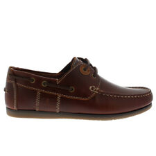 Mens Barbour Capstan Summer Casual Lace Up Leather Deck Boat Shoes All Sizes