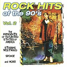 Rock Hits of the 90's, Vol. 2 by Various Artists (CD, Jun-1999, Sony Music Distr