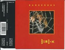 BEDROKK - Dangerous / Look PROMO CD SINGLE 2TR Rock 1993 (KOCH AUSTRIA) RARE!!
