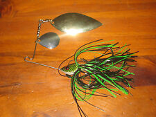 Spinnerbait Fishing Lure 0.5oz/14g With Gold/Silver Spinners. Redfin Cod Bass