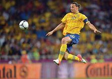 Zlatan Ibrahimovic Suédois Superstar Volley AFFICHE