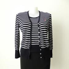 BASLER Twin Set Cardigan and Short Sleeve Top Size 40 AU 14 - 16 US 10 - 12