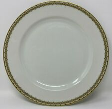 """VINTAGE HAVILAND LIMOGES ALBANY GREEK KEY DINNER PLATE 9 3/4"""""""