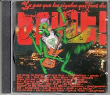 """CD ALBUM  """"Y A PAS QUE LES CIGALES QUI FONT DU BRUIT"""" (COMPILATION PUNK)"""