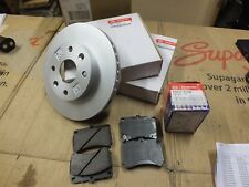 New Genuine Kia Rio front Brake kit 11 2x MDX7433251 discs KOBA23328Z Pads B117
