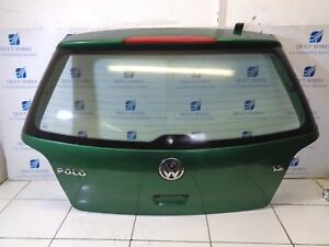 02-05 VW POLO 9N 1.2 5DR REAR BOOT LID TAILGATE IN GREEN GENUINE