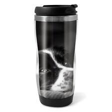 Beautiful Border Collie Travel Mug Flask - 330ml Coffee Tea Kids Car Gift #8639