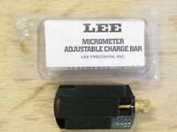 "LEE 90792  Adjustable Charge Bar ""Adjustable between .28 cc and 1.6 cc"""