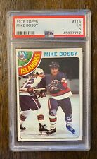 1978-79 Topps Mike Bossy Rookie Card RC PSA 5 EX - NY Islanders - CENTERED