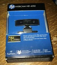 HP HD 4310 Webcam USB Full 1080P 13MP Camera H2W19AA#ABB NEW