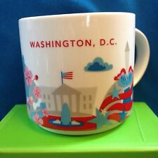 Starbucks Washington DC Mug City State You Are Here Cup YAH New w box