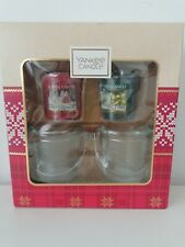Brand New Yankee Candle Christmas Votive Gift Set