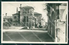 Venezia Mestre Via Torre Bel Fredo Foto cartolina QT8146