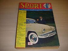 SPORT MONDIAL 020 10.1957 SPECIAL SALON AUTO BILAN CYCLISME 1957 INDIANAPOLIS