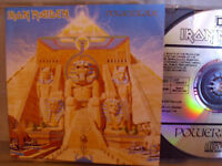 Iron Maiden- Powerslave- EMI 1984- Made in West Germany- No Barcode
