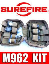 SUREFIRE M962 WEAPONLIGHT KIT 01 MN10 MN11 FM13 FM14 FM15 FM16 FM17 FILTER LAMP