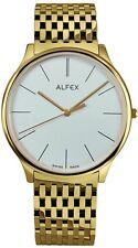 Alfex Herrenuhr 5638/021 Quarz Schweizer Qualität UVP 525 EUR