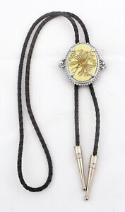 Vintage Bolo Tie with Scorpion Decoration