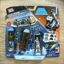 STAR WARS TD Metallic BOARD Set Build SANTA CRUZ TECH DECK KMART Exclusive 68PC