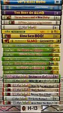 Elmo & Sesame Street 23 DVD Lot - Elmo & Friends Collection! Wholesale Bulk Buy!