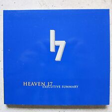 Heaven 17 ‎– Executive Summary CD Sampler, Promo  Eye Of The Storm ‎– PRCD 322