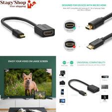 Ugreen Câble Micro HDMI Mâle vers femelle Adaptateur 4k 3d Ethernet Arc compatib
