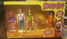 SCOOBY DOO MYSTERY SOLVING CREW 5 FIGURE SET SHAGGY FRED VELMA DAPHNE