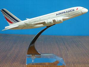 AIR FRANCE A380 Passenger Aircraft Plane Alloy Airplane Metal Diecast Model C