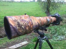 Nikon 800mm VR Neopren Objektiv Schutz Abdeckung Camouflage: Eiche tarn