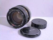 Objectif: Canon Lens FD 50 mm 1:1 .4 S. SC 5a2562