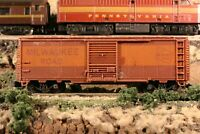 N Scale Arnold Rapido Made in Germany Brown Boxcar Milwaukee Road no number