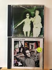 Pre-owned ~ Robert Palmer CD Lot of 2 (Addictions Volume 2 & Sneakin' Sally)