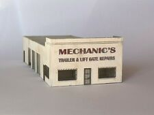 N scale Laser cut mechanic's truck repair shop