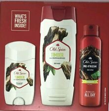 Old Spice Timber With Sandalwood 3Pcs Gift Set