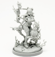 ██ 30mm Resin Kingdom Death Necromancer Variant Unpainted ONLY Figure WH291