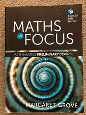 Maths in Focus, Mathematics Preliminary Course, Revised 2nd Edition