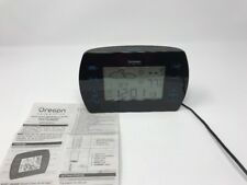 Oregon Scientific Touch-Control AM/FM Atomic Weather Clock W/Dual Alarm BARM699A