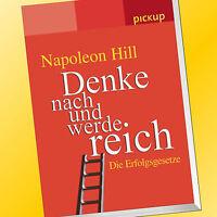 NAPOLEON HILL | DENKE NACH UND WERDE REICH | Die Erfolgsgesetze | pickup (Buch)