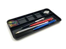 M&M Stifteschale Kunststoff schwarz Stiftablage Schreibtisch B120xH16xL250mm