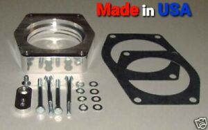 Throttle Body Spacer For 14-18 Silverado Sierra 1500 Yukon GMC Cadillac 6.2L V8